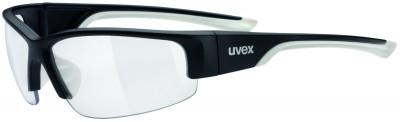 Солнцезащитные очки Uvex Sportstyle 215Универсальные очки uvex для защиты от солнца и занятий спортом.<br>Возраст: Взрослые; Пол: Мужской; Цвет линз: Прозрачный; Цвет оправы: Черный матовый, белый; Назначение: Бег, велоспорт; Ультрафиолетовый фильтр: Да; Поляризационный фильтр: Нет; Зеркальное напыление: Да; Материал линз: Поликарбонат; Оправа: Пластик; Вид спорта: Бег, Велоспорт; Технологии: LITEMIRROR; Производитель: Uvex; Артикул производителя: S5306172819; Срок гарантии: 1 месяц; Страна производства: Тайвань; Размер RU: Без размера;