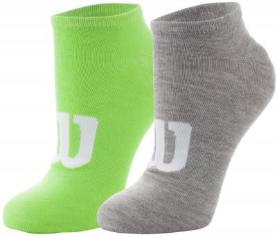Носки мужские Wilson, 2 парыУдобные яркие носки для занятий спортом и повседневной носки. Благодаря полиэстеру с эластаном они хорошо тянутся и не теряют форму после стирки.<br>Пол: Мужской; Возраст: Взрослые; Вид спорта: Спортивный стиль; Материалы: 98 % полиэстер, 2 % эластан; Производитель: Wilson; Артикул производителя: W445-V; Страна производства: Китай; Размер RU: 43-46;