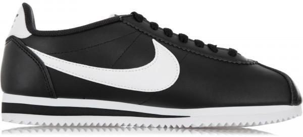 49976ced Кроссовки женские Nike Classic Cortez Leather черный цвет — купить за 6699  руб. в интернет-магазине Спортмастер