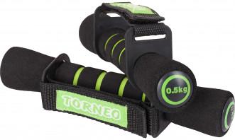 Гантели для фитнеса Torneo, 2 х 0,5 кг