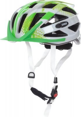 Шлем велосипедный детский UvexНадежный и легкий шлем для подростков.<br>Конструкция: In-mould; Вентиляция: Принудительная; Регулировка размера: Да; Тип регулировки размера: Поворотное кольцо IAS; Материал внешней раковины: Поликарбонат; Материал внутренней раковины: Вспененный полистирол; Материал подкладки: Полиэстер; Сертификация: EN 1078; Технологии: FAS, IAS 3.0, monomatic; Вес, кг: 0,225; Пол: Мужской; Возраст: Дети; Производитель: Uvex; Артикул производителя: S4144261415; Срок гарантии: 6 месяцев; Страна производства: Германия; Размер RU: 52-56;