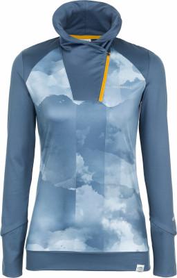 Футболка с длинным рукавом женская Merrell LiguriaЖенская футболка с длинным рукавом отлично подойдет для походов.<br>Пол: Женский; Возраст: Взрослые; Вид спорта: Походы; Покрой: Прямой; Светоотражающие элементы: Нет; Дополнительная вентиляция: Нет; Технологии: M Select WICK; Производитель: Merrell; Артикул производителя: RTSW02M652; Страна производства: Бангладеш; Материалы: 78 % полиэстер, 22 % спандекс; Размер RU: 52;