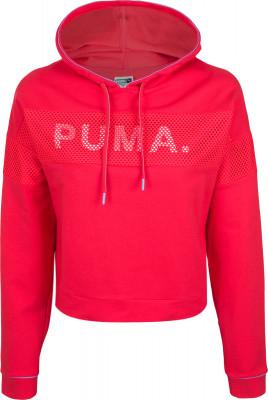 Джемпер женский Puma Chase, размер 46-48Джемперы<br>Практичный джемпер от puma для образа в спортивном стиле. Натуральные материалы натуральный хлопок гарантирует комфорт и воздухообмен.