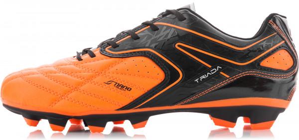 0479080e Бутсы мужские Demix Triada черный/оранжевый цвет — купить за 2999 руб. в  интернет-магазине Спортмастер