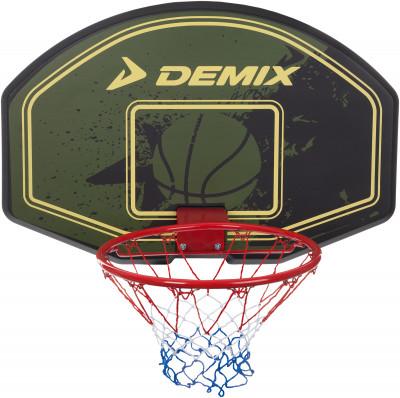Щит баскетбольный DemixЩиты и кольца<br>Комплект для игры в баскетбол в зале и на улице. В набор входят баскетбольный щит размером 90 х 60 см и стальное баскетбольное кольцо диаметром 46 см с неопреновой сеткой.