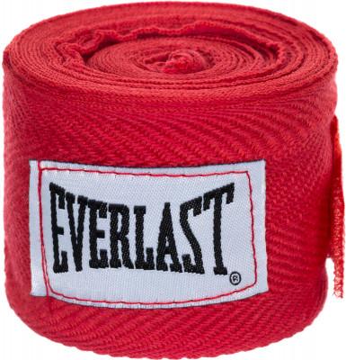 Бинты Everlast 2,5 м, 2 шт.Бинты everlast предназначены для защиты суставов во время работы в боксерских перчатках. Использование бинтов помогает избежать растяжений и вывихов.<br>Материалы: 65 % хлопок, 35 % полиэстер; Тип фиксации: Липучка; Вид спорта: Бокс; Производитель: Everlast; Артикул производителя: 4465; Срок гарантии: 15 дней; Размер RU: Без размера;