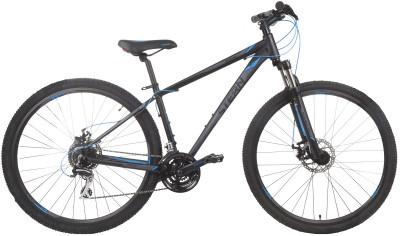 Stern Motion 29 (2017)Горный велосипед с геометрией optimized cycling geometry - отличный выбор для продвинутых велосипедистов.<br>Материал рамы: Алюминиевый сплав; Размер рамы: 17; Амортизация: Hard tail; Конструкция рулевой колонки: Полуинтегрированная; Конструкция вилки: Пружинно-эластомерная; Ход вилки: 80 мм; Регулировка жесткости вилки: Есть; Блокировка вилки: Есть; Количество скоростей: 24; Наименование переднего переключателя: SHIMANO ALTUS FD-M313; Наименование заднего переключателя: SHIMANO ACERA RD-M360; Конструкция педалей: Классические; Наименование манеток: SHIMANO ST-EF65; Конструкция манеток: Триггерные двурычажные; Тип переднего тормоза: Дисковый механический; Тип заднего тормоза: Дисковый механический; Возможность крепления дискового тормоза: Рама, вилка, втулки; Диаметр колеса: 29; Тип обода: Двойной; Материал обода: Алюминий; Наименование покрышек: INNOVA IA-2569, 29x2,1; Конструкция руля: Изогнутый; Регулировка руля: Есть; Регулировка седла: Есть; Сезон: 2017; Максимальный вес пользователя: 95 кг; Вид спорта: Велоспорт; Технологии: 6061 Aluminium, Hydroforming, Optimized Cycling Geometry, Preload; Производитель: Stern; Артикул производителя: 17MO29R17T; Срок гарантии: 2 года; Вес, кг: 15,06; Страна производства: Россия; Размер RU: 17;