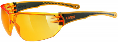Солнцезащитные очки UvexЛаконичные солнечные очки от uvex надежно защищают глаза от яркого света, ветра и брызг.<br>Цвет линз: Оранжевый; Назначение: Активный отдых; Пол: Мужской; Возраст: Взрослые; Вид спорта: Активный отдых; Ультрафиолетовый фильтр: Да; Материал линз: Поликарбонат; Оправа: Пластик; Технологии: 100% UVA- UVB- UVC-PROTECTION; Производитель: Uvex; Артикул производителя: S5305253112; Срок гарантии: 1 месяц; Страна производства: Тайвань; Размер RU: Без размера;