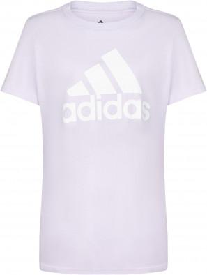 Футболка женская Adidas Badge of Sport, Plus Size