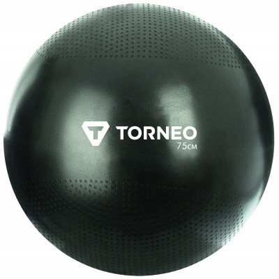 Мяч гимнастический Torneo, 75 смФитболы<br>Этот мяч может использоваться в гимнастике и фитнесе, в школах, офисах и на детских площадках.