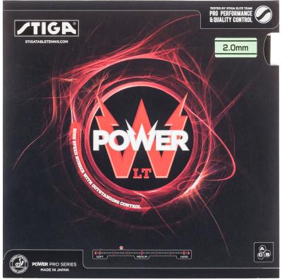 Накладка Stiga Power LTНакладка power lt с технологией acs разработана для игроков, которые хотят сделать первый большой шаг в настольном теннисе.<br>Скорость: 111; Контроль: 122; Вращение: 123; Тип накладки: Гладкая; Толщина губки: 2.0 мм; Жесткость губки: средняя; Материал накладки: 100 % резина; Вид спорта: Настольный теннис; Технологии: ACS; Производитель: Stiga; Артикул производителя: 1701-0401-20; Срок гарантии: 2 года; Страна производства: Япония; Размер RU: Без размера;