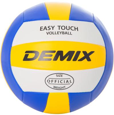 Мяч волейбольный DemixЛюбительский волейбольный мяч.<br>Сезон: 2017; Возраст: Взрослые; Вид спорта: Волейбол; Тип поверхности: Универсальные; Назначение: Любительские; Материал покрышки: Синтетическая кожа; Материал камеры: Резина; Способ соединения панелей: Машинная сшивка; Количество панелей: 18; Вес, кг: 0,260-0,280; Производитель: Demix; Артикул производителя: VMPVC43M15; Страна производства: Китай; Размер RU: 5;