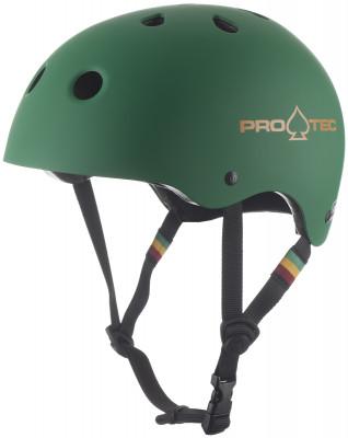 Шлем Pro-Tec Classic Matte RastaТехнологичный шлем protec обеспечивает превосходную защиту во время катания на роликах.<br>Конструкция: Hard shell; Вентиляция: Принудительная; Регулировка размера: Нет; Материал внешней раковины: Hi-Impact ABS; Материал внутренней раковины: Полистирол; Материал подкладки: Пена EPS; Вес, кг: 0,5; Сертификация: CPSC, CE, ASTM, AS/NZS 2063:2008; Пол: Мужской; Возраст: Взрослые; Вид спорта: Роликовые коньки; Производитель: Pro-Tec; Технологии: EPS, HDPE Flex, Hardshell; Срок гарантии: 2 года; Артикул производителя: 1150131; Страна производства: Китай; Размер RU: 56-58;
