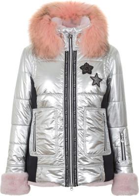 Куртка утепленная женская Sportalm Maelys, размер 46Куртки <br>Оригинальная горнолыжная куртка sportalm, выполненная из серебристого металлического нейлона.