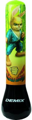 Мешок детский надувной DemixНадувной мешок с надежным водоналивным основанием от demix. Модель служит не только снарядом для тренировок, но и оригинальным ночником.<br>Диаметр мешка: 25 см; Материал верха: Поливинилхлорид; Вид спорта: Бокс; Производитель: Demix; Артикул производителя: DCS-211R; Страна производства: Китай; Размер RU: Без размера;