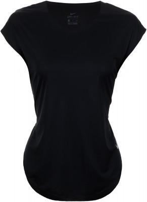 Футболка женская Nike City Sleek, размер 48-50Футболки<br>Беговая футболка nike city sleek создана для оптимальной вентиляции и максимальных результатов на пробежке.