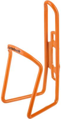 Флягодержатель CyclotechФлягодержатель для велосипеда. Особенности модели: материал: алюминий; надежная фиксация фляги; крепится на раму велосипеда.<br>Материалы: Алюминий; Вид спорта: Велоспорт; Производитель: Cyclotech; Артикул производителя: CBH-1OR.; Страна производства: Китай; Размер RU: Без размера;