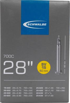 Камера Schwalbe SV15 60mm 28