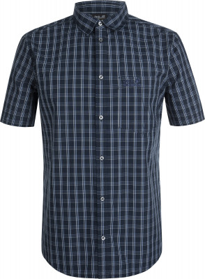Рубашка с коротким рукавом мужская Jack Wolfskin Hot Springs, размер 46-48