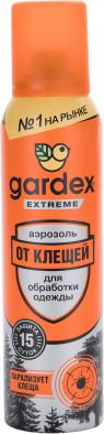 Аэрозоль от клещей Gardex Extreme, 150 мл