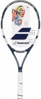 Ракетка для большого тенниса Babolat Pulsion 105Ракетка babolat pulsion 105, которая отлично подойдет как начинающим, так и прогрессирующим игрокам.<br>Материал ракетки: Композит; Вес (без струны), грамм: 260; Размер головы: 680 кв.см; Баланс: 340 мм; Длина: 27; Струнная формула: 16х20; Стиль игры: Защитный стиль; Технологии: ED; Производитель: Babolat; Артикул производителя: 121186; Срок гарантии: 2 года; Страна производства: Китай; Вид спорта: Теннис; Уровень подготовки: Начинающий; Наличие струны: В комплекте; Наличие чехла: Опционально; Размер RU: 3;