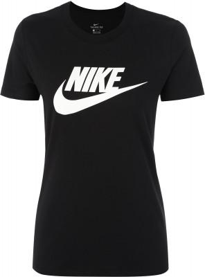 Футболка женская Nike Sportswear, размер 40-42Футболки<br>Лаконичная футболка в фирменном стиле nike станет отличным завершением образа. Натуральные материалы натуральный хлопок гарантирует комфорт и воздухообмен.
