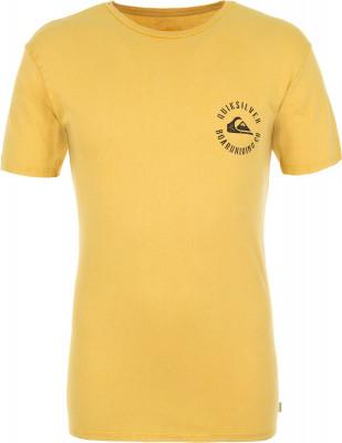 Футболка мужская Quiksilver, размер 52-54Surf Style <br>Футболка quiksilver skulled - идеальный выбор для летних приключений. Комфортная посадка крой гарантирует удобную посадку.