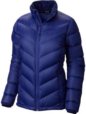 Куртка пуховая женская Mountain Hardwear RatioУдобная и теплая куртка для горного туризма. Вес модели: 375 г. Длина по середине спины 66 см.<br>Пол: Женский; Возраст: Взрослые; Вид спорта: Горный туризм; Температурный режим: До -15; Покрой: Приталенный; Длина куртки: Средняя; Капюшон: Отсутствует; Количество карманов: 2; Материал верха: 100 % нейлон; Материал утеплителя: Пух, перо; Технологии: Q.Shield Down; Производитель: Mountain Hardwear; Артикул производителя: OL6175432XL; Страна производства: Китай; Размер RU: 50;