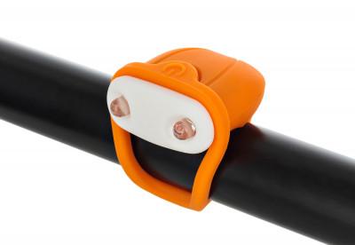 Фонарь велосипедный передний габаритный CyclotechПередний габаритный фонарь cyclotech.<br>Материалы: Силикон, пластик; Вид спорта: Велоспорт; Производитель: Cyclotech; Артикул производителя: CFL-4OR; Страна производства: Китай; Размер RU: Без размера;