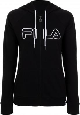 86a0460f Джемпер женский Fila черный цвет — купить за 2999 руб. в интернет ...