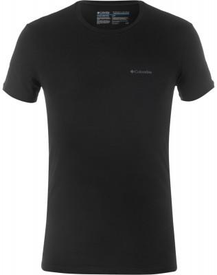Футболка мужская ColumbiaМужская футболка из мягкой смесовой ткани подходит для путешествий и активного отдыха. Материал изделия обработан антимикробной пропиткой.<br>Пол: Мужской; Возраст: Взрослые; Вид спорта: Путешествие; Плоские швы: Да; Технологии: Omni-Wick; Производитель: Columbia Delta; Артикул производителя: RM8C702BLKS; Страна производства: Бангладеш; Материалы: 95 % хлопок, 5 % спандекс; Размер RU: 44-46;