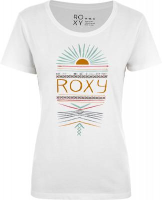 Футболка женская Roxy Itty Be Tee Ethnical Sun, размер 40-42Surf Style <br>Комфортная футболка roxy станет отличным выбором для активного отдыха в жаркие дни. Свобода движений благодаря классическому крою футболка не стесняет движения.