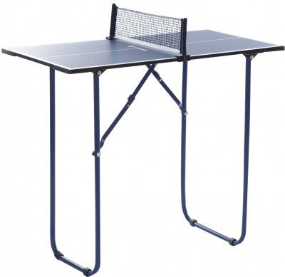 Теннисный мини-стол для помещений TorneoТеннисный мини-стол от torneo станет отличным выбором для игр в помещении с ограниченным пространством.<br>Размер в рабочем состоянии (дл. х шир. х выс), см: 90 х 45 х 76; Размер в сложенном виде (дл. х шир. х выс), см: 90 х 45 х 4; Вес, кг: 6; Складная конструкция: Да; Блокиратор в механизме складывания: Да; Регулировка высоты стола: Нет; Держатель мячей и ракеток: Нет; Труба: Круглая; Диаметр трубы: 20 мм; Материал каркаса: Сталь; Толщина игровой плиты, мм: 12; Позиция Playback: Нет; Блокиратор колес: Нет; Наличие сетки: Да; Зажимной механизм: Да; Регулировка высоты сетки: Нет; Вид спорта: Настольный теннис; Производитель: Torneo; Артикул производителя: S18ETOAP001; Срок гарантии: 2 года; Страна производства: Китай; Размер RU: Без размера;