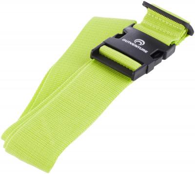 Багажный ремень OutventureРемень поможет защитить багаж от несанкционированного вскрытия во время путешествий. Адаптируется по длине под необходимые размеры длина 180 см ширина 5 см.<br>Размер (Д х Ш), см: 180 x 5; Состав: 90 % полиэстер, 10 % пластик; Вид спорта: Кемпинг, Походы; Производитель: Outventure; Артикул производителя: IE6644G2; Срок гарантии: 2 года; Страна производства: Китай; Размер RU: Без размера;