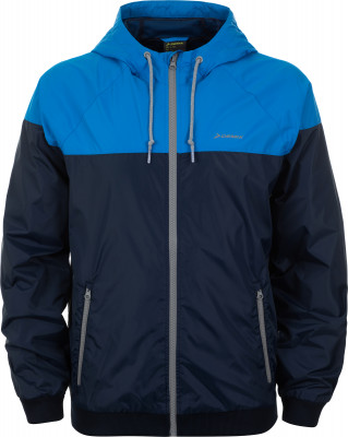 Ветровка мужская Demix, размер 50Куртки <br>Практичная ветровка demix, выполненная в спортивном стиле, завершит ваш образ. Защита от непогоды регулируемый капюшон помогает лучше сохранить тепло и защищает от дождя.