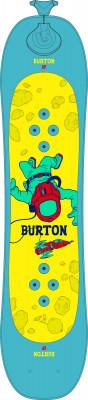 Burton Riglet Board (16-17)Детский сноуборд burton riglet board станет отличным выбором для начинающих.<br>Сезон: 2017/2018; Назначение: Универсальные; Уровень подготовки: Начинающий; Пол: Мужской; Возраст: Дети; Вид спорта: Сноубординг; Жесткость: 1; Прогиб: Флэт; Тип прогиба: Flat top; Тип закладных: 3D; Форма: Twin Tip; Скользящая поверхность: Спеченная; Геометрия: 202,5 - 182 - 202,5 мм; Радиус бокового выреза: 3,6 м; Контактная длина: 580; Широкая модель: N; Материал сердечника: Дерево; Конструкция: Кэп; Тип оплетки: Биаксиальная; Материал оплетки: Стекловолокно; Расстояние между креплениями: 330 мм; Рекомендуемый вес пользователя: 11-23 кг; Производитель: Burton; Артикул производителя: 11759102000; Срок гарантии на сноуборд: 1 год; Страна производства: Китай; Размер RU: 90;