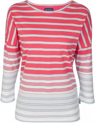 Футболка с длинным рукавом женская Columbia Harborside, размер 48Футболки<br>Женская футболка с рукавами 3 4 - незаменимая вещь в путешествиях. Натуральные материалы натуральный хлопок в составе ткани гарантирует комфорт и оптимальный микроклимат.