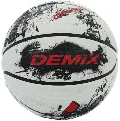 Мяч баскетбольный DemixБаскетбольный мяч для тренировок и игры на любых видах жестких покрытий.<br>Сезон: 2017; Возраст: Взрослые; Вид спорта: Баскетбол; Тип поверхности: Для жёстких покрытий; Назначение: Любительские; Материал покрышки: Резина; Материал камеры: Резина; Способ соединения панелей: Клееный; Количество панелей: 8; Вес, кг: 0,567-0,650; Производитель: Demix; Артикул производителя: BRSTREEW17; Срок гарантии: 2 месяца; Страна производства: Китай; Размер RU: 7;
