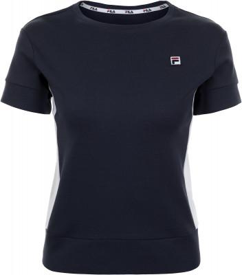 Футболка женская Fila, размер 48Футболки<br>Футболка от fila отлично впишется в твой гардероб, подобранный в спортивном стиле.