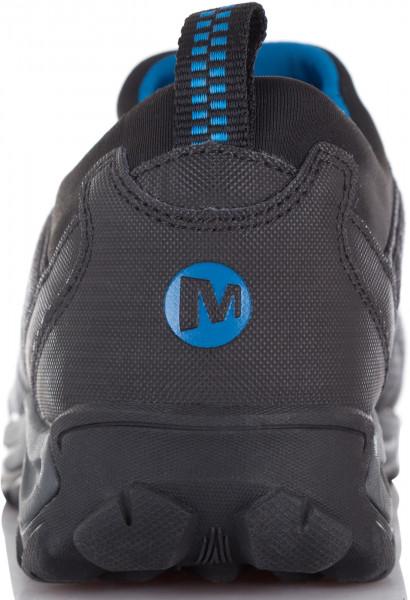 Полуботинки утепленные мужские Merrell Ice Cap 4 Strech Moc черный голубой  цвет - купить за 3499 руб. в интернет-магазине Спортмастер 133a2080b2341