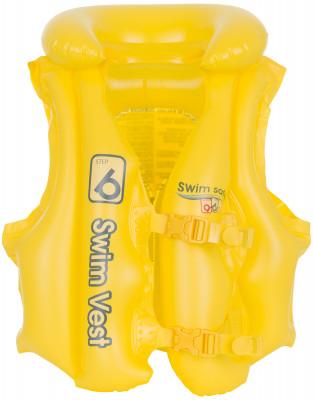 Жилет спасательный детский BestwayДетский надувной жилет пригодится во время отдыха на воде. В модели предусмотрено 3 воздушных камеры и надувной воротник.<br>Материалы: 94 % поливинилхлорид, 6 % полиформальдегид; Размеры (дл х шир х выс), см: 51 х 46; Размер упаковки: 18 x 12 x 10 см; Вес, кг: 0,32; Вид спорта: Кемпинг; Производитель: Bestway; Артикул производителя: BW32034; Срок гарантии: 1 год; Страна производства: Китай; Размер RU: Без размера;
