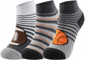 Носки для мальчиков Skechers, 3 пары