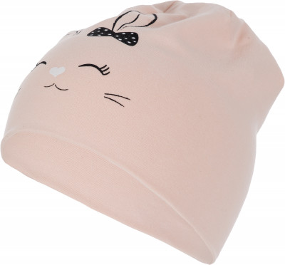 Шапка для девочек IcePeak AlekoГоловные уборы<br>Двухслойная трикотажная шапка aleko от icepeak для девочек. Мягкая ткань, выполненная из натурального хлопка с небольшим добавлением эластана, приятна на ощупь.