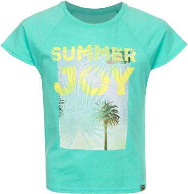 Футболка для девочек Termit, размер 146Surf Style <br>Комфортная футболка termit непременно придется по вкусу любительницам активно проводить время на пляже. Свобода движений прямой крой не стесняет движения.