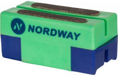 Приспособление для заточки коньков NordwayХоккейный аксессуар от nordway предназначен для заточки и правки лезвий коньков. Заточка подходит для любых коньков и эффективно снимает ржавчину с лезвий.<br>Вес, кг: 0,045 кг; Материалы: 60 % пластик, 40 % точильный камень; Производитель: Nordway; Вид спорта: Хоккей; Артикул производителя: SHARP-72; Страна производства: Китай; Размер RU: Без размера;