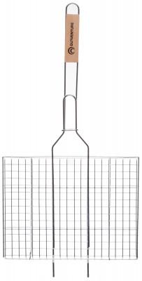 Решетка-гриль OutventureРешетка для приготовления пищи на углях. Ручка из дерева не нагревается.<br>Состав: 95% хромированное железо, 5% дерево; Вид спорта: Кемпинг; Производитель: Outventure; Артикул производителя: IE52402; Срок гарантии: 2 года; Страна производства: Китай; Размер RU: Без размера;