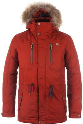 Куртка пуховая мужская OutventureМужской пуховик из прочной водонепроницаемой ткани создан для путешествий в холодный период года.<br>Пол: Мужской; Возраст: Взрослые; Вид спорта: Путешествие; Вес утеплителя: 319 г/м2; Температурный режим: До -20; Покрой: Прямой; Длина куртки: Длинная; Капюшон: Отстегивается; Мех: Натуральный; Количество карманов: 4; Производитель: Outventure; Артикул производителя: JMT201R354; Страна производства: Китай; Материал верха: 67 % хлопок, 33 % полиэстер; Материал подкладки: 100 % полиэстер; Материал утеплителя: Спинка, рукав: 70 % утиный пух серый, 30 % утиное перо серое, капюшон: 100 % полиэстер, мех: 100 % мех енота; Размер RU: 54;