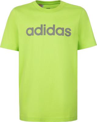 Футболка для мальчиков Adidas Essentials Linear Logo, размер 170