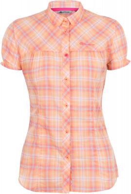 Рубашка женская OutventureЖенская рубашка прямого кроя подходит для путешествий и активного отдыха. Комфорт легкая ткань и свободный крой обеспечивают комфорт во время путешествий.<br>Пол: Женский; Возраст: Взрослые; Вид спорта: Путешествие; Покрой: Прямой; Застежка: Пуговицы; Материал верха: 100 % хлопок; Производитель: Outventure; Артикул производителя: S17AOUE244; Страна производства: Бангладеш; Размер RU: 44;