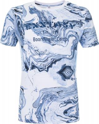 Футболка мужская Exxtasy Watsonvile, размер 46-48Surf Style <br>Мужская футболка с принтом от exxtasy подойдет для яркого летнего отдыха. Комфортная посадка зауженный крой гарантирует удобство и позволяет двигаться естественно.